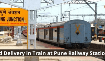 Food Delivery At Pune Railway Station