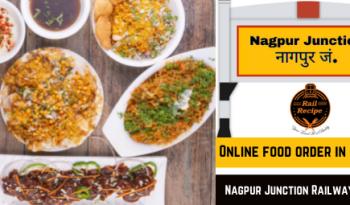 Online food order in train at Nagpur Junction Railway Station