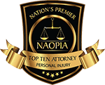 Railroad Injury Lawyer Award - NAOPIA