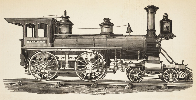 Locomotives - The Transcontinental Railroad