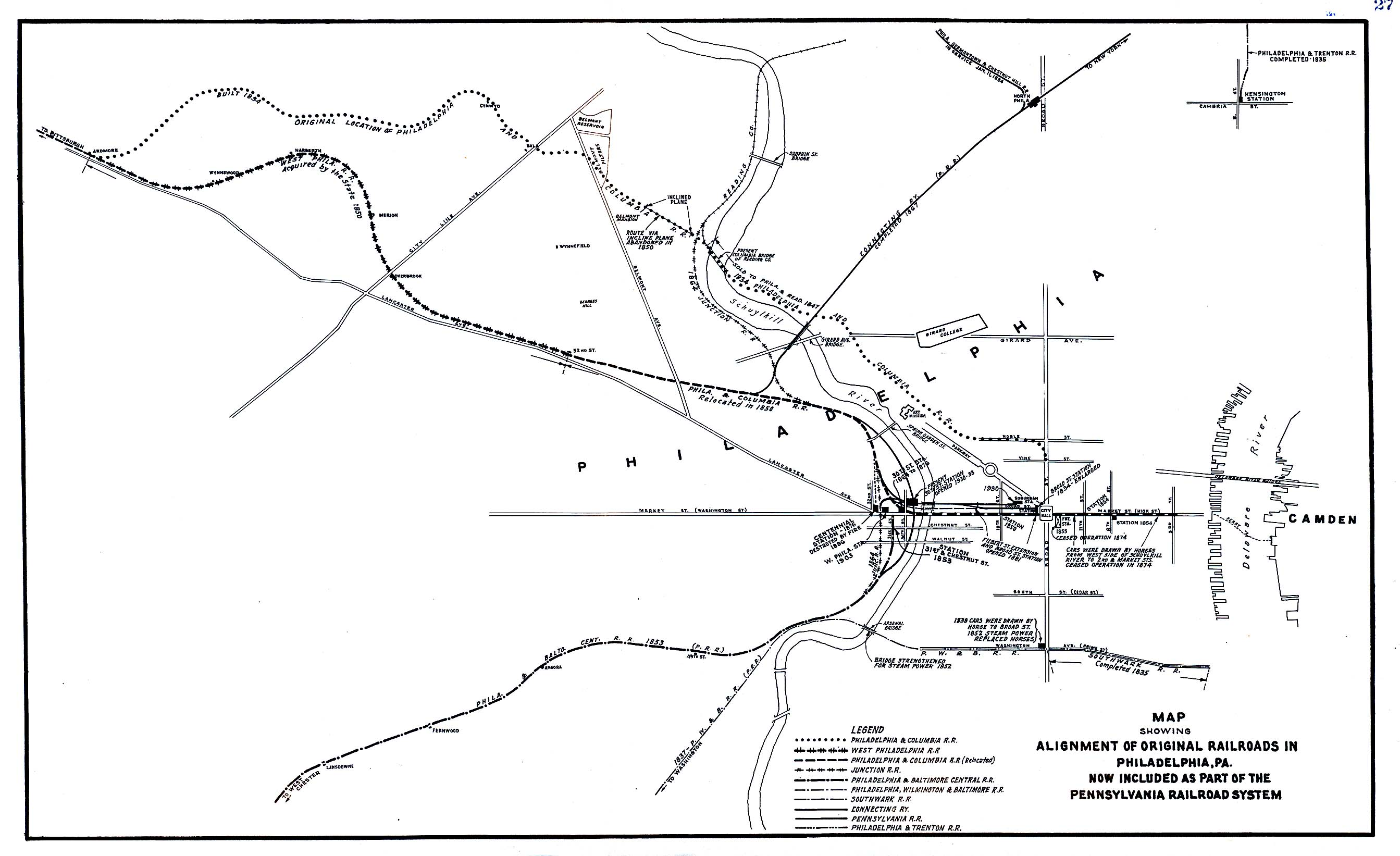 Philadelphia Original Railroads