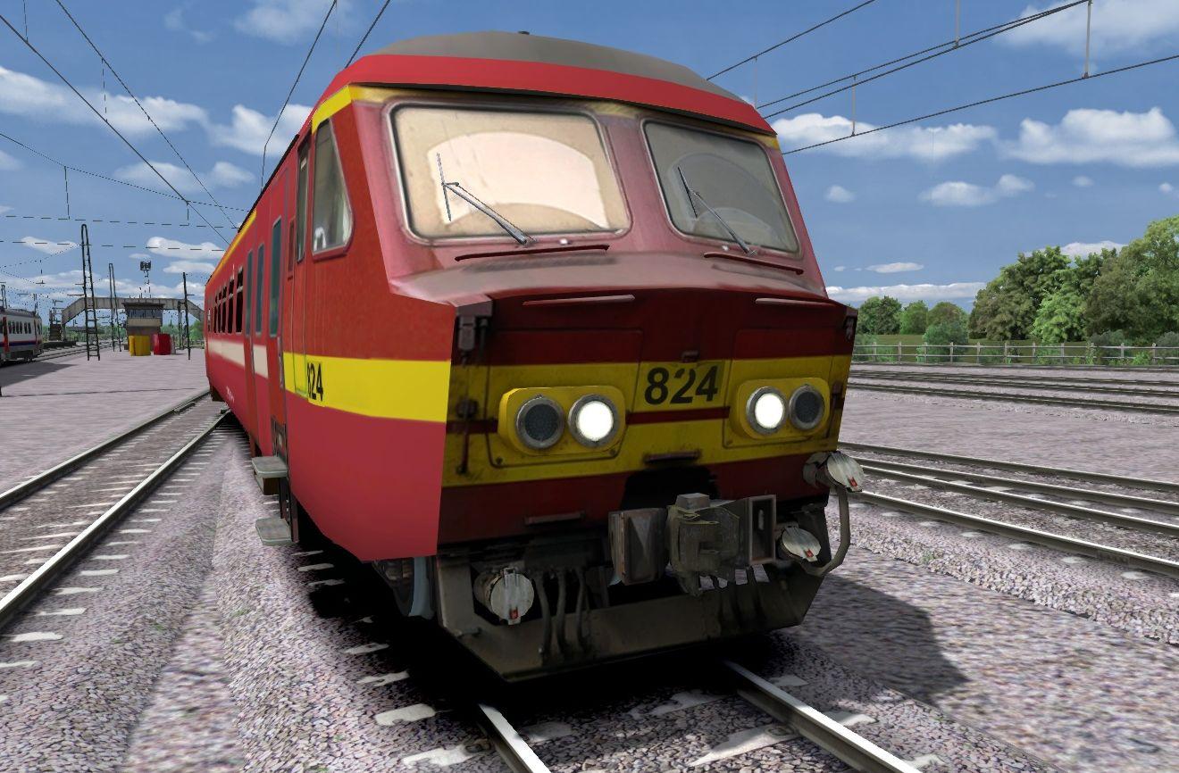 """NMBS/SNCB AM 75 """"Varkensneus"""""""
