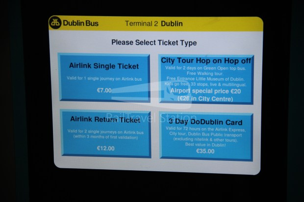 Airlink Express 747 Dublin Airport Heuston Railway Station 013