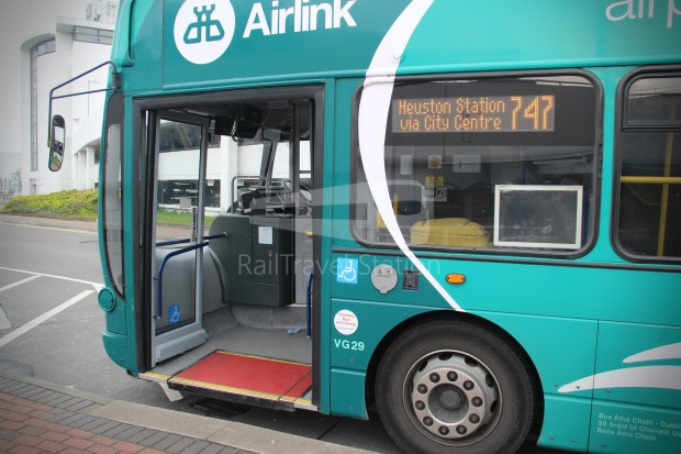 Airlink Express 747 Dublin Airport Heuston Railway Station 031