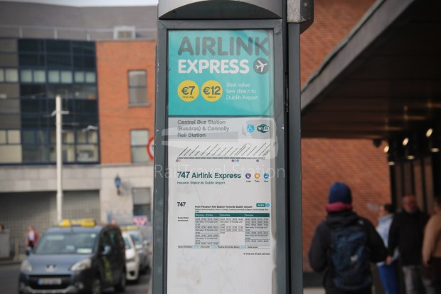 Airlink Express 757 Busaras Central Bus Station Dublin Airport 010