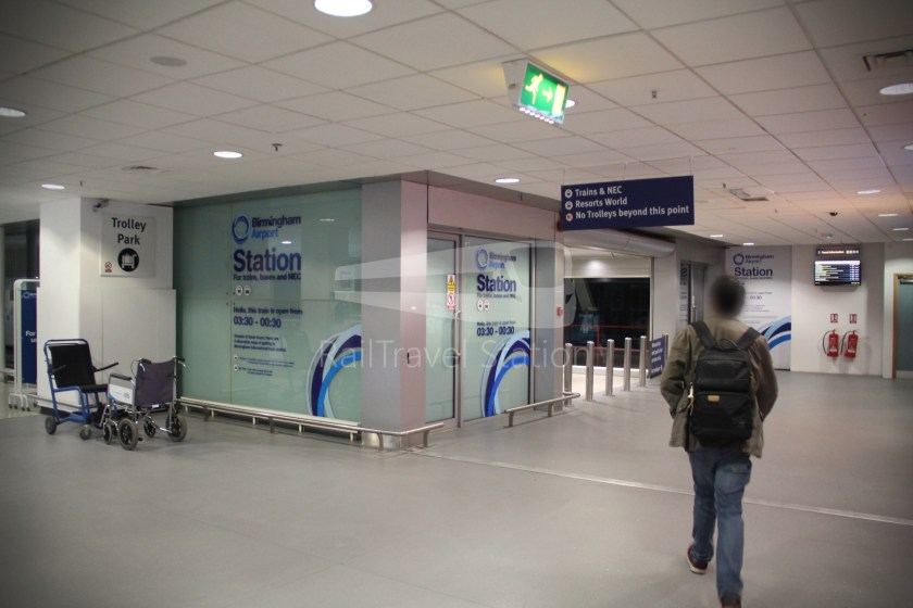 Birmingham Airport AirRail Link Airport Railway Station 001