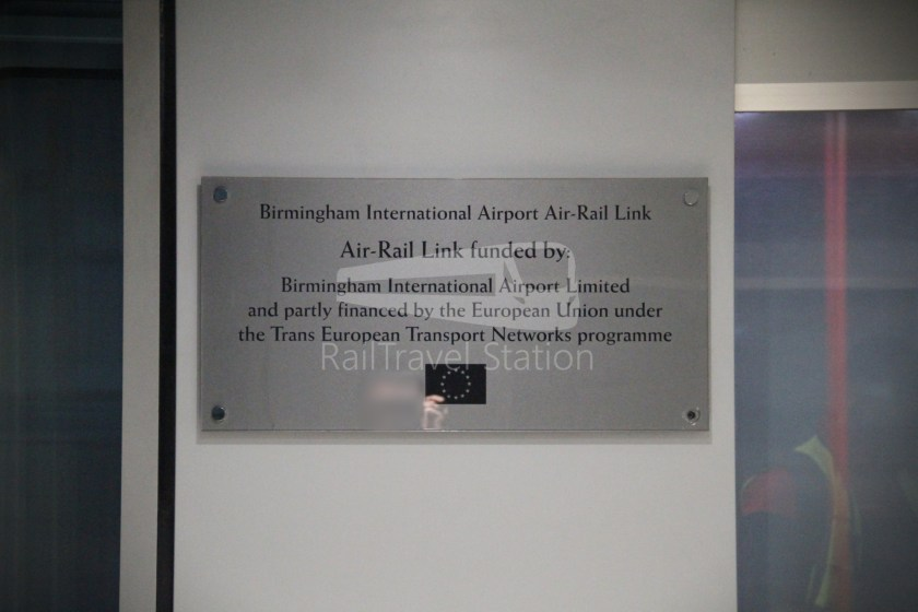 Birmingham Airport AirRail Link Airport Railway Station 007