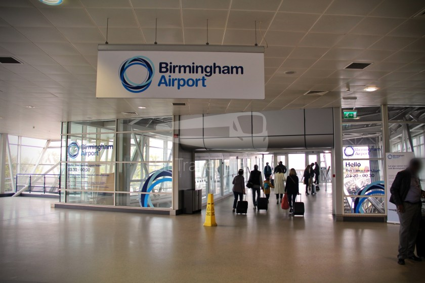 Birmingham Airport AirRail Link Railway Station Airport 004