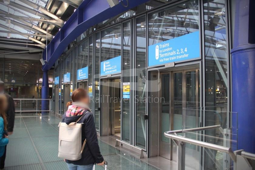 Heathrow Express TfL Rail Terminal 5 Terminal 4 003