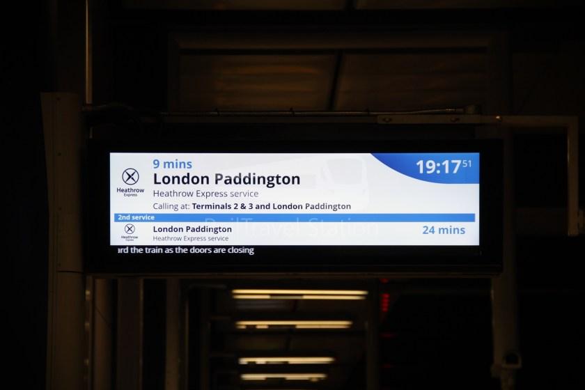 Heathrow Express TfL Rail Terminal 5 Terminal 4 011