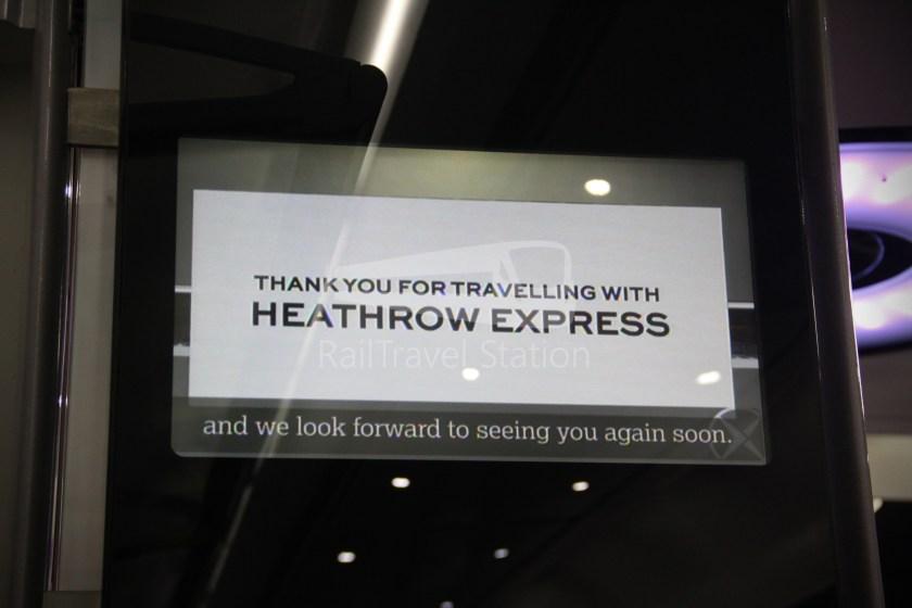 Heathrow Express TfL Rail Terminal 5 Terminal 4 019