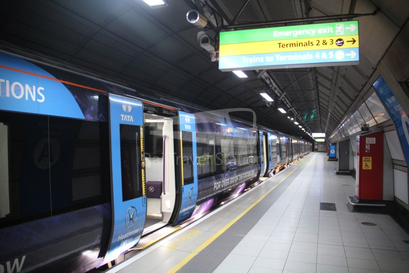 Heathrow Express TfL Rail Terminal 5 Terminal 4 022