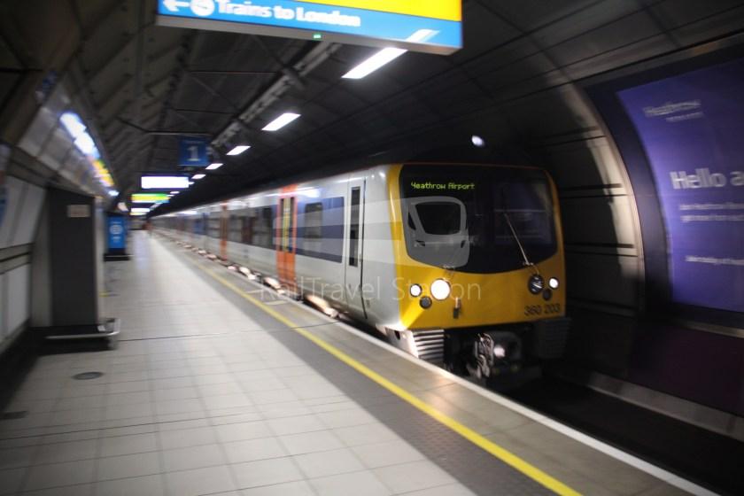 Heathrow Express TfL Rail Terminal 5 Terminal 4 026