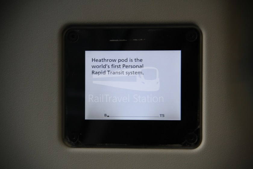 Heathrow Pod Pod Parking Station B Terminal 5 012