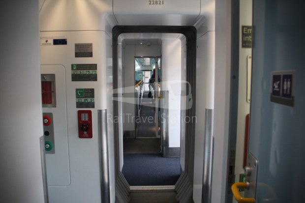 IE Irish Rail 22000 Class InterCity Railcar Exploration 015