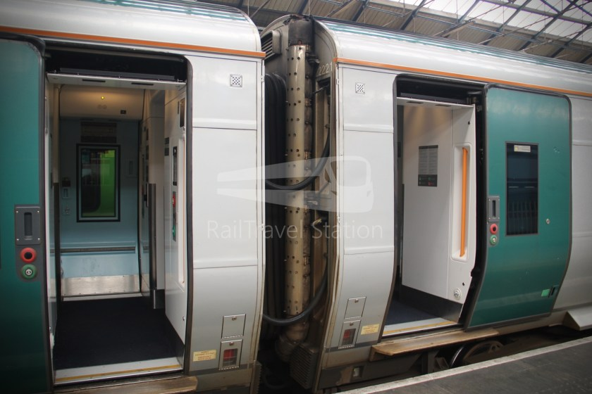 IE Irish Rail 22000 Class InterCity Railcar Exploration 022