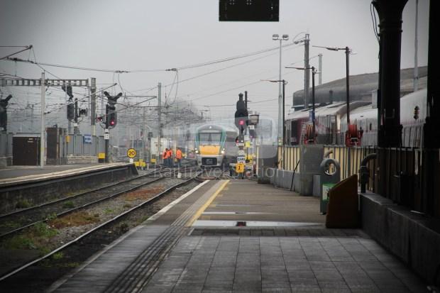 IE Irish Rail 22000 Class InterCity Railcar Exploration 033