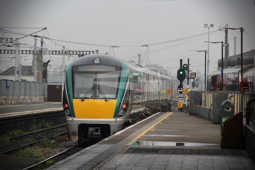 IE Irish Rail 22000 Class InterCity Railcar Exploration 041