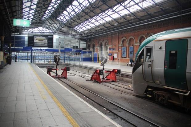 IE Irish Rail 22000 Class InterCity Railcar Exploration 043