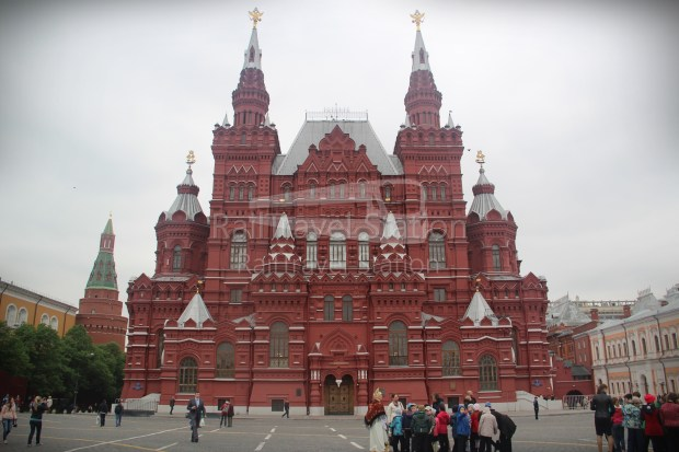 London to Singapore Day 18 Moscow 18