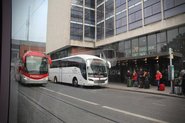 Luas Red Line Abbey Street Connolly Railway Station 008
