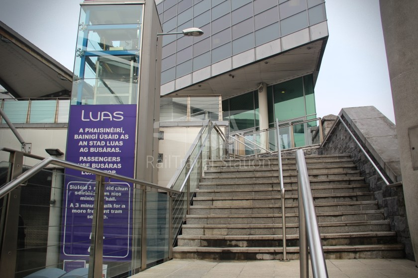 Luas Red Line Abbey Street Connolly Railway Station 022
