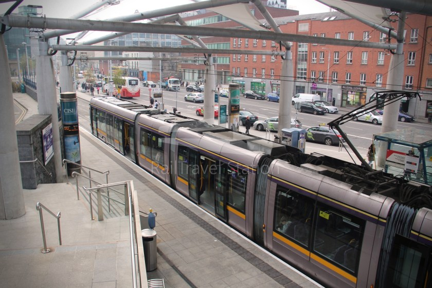 Luas Red Line Abbey Street Connolly Railway Station 023