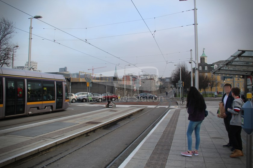 Luas Red Line Heuston Railway Station Smithfield 003