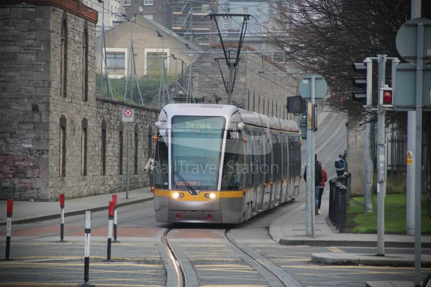 Luas Red Line Heuston Railway Station Smithfield 012