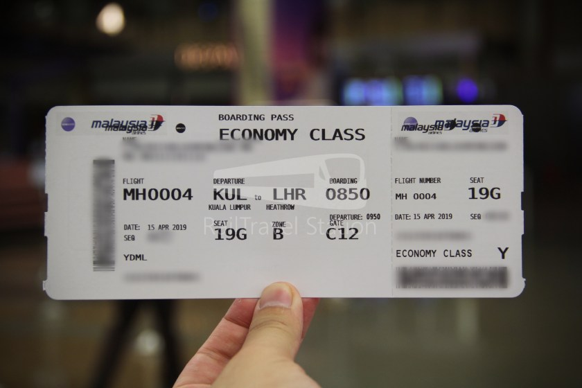Malaysia Airlines MH602 SIN KUL for LHR 007