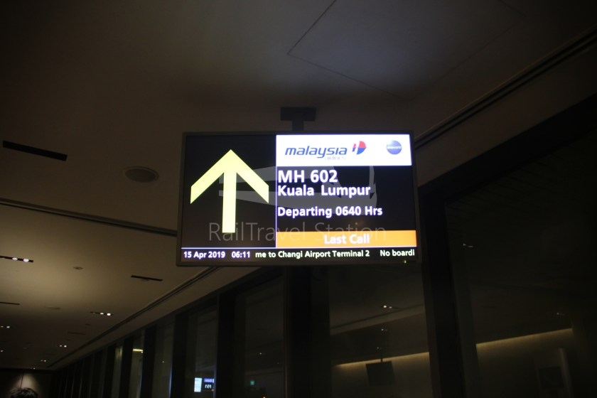 Malaysia Airlines MH602 SIN KUL for LHR 034