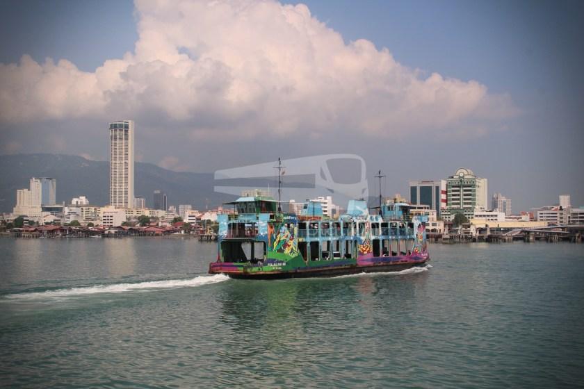 Rapid Ferry Georgetown Penang Sentral 012