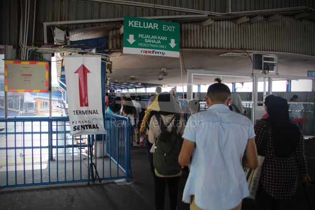 Rapid Ferry Georgetown Penang Sentral 021