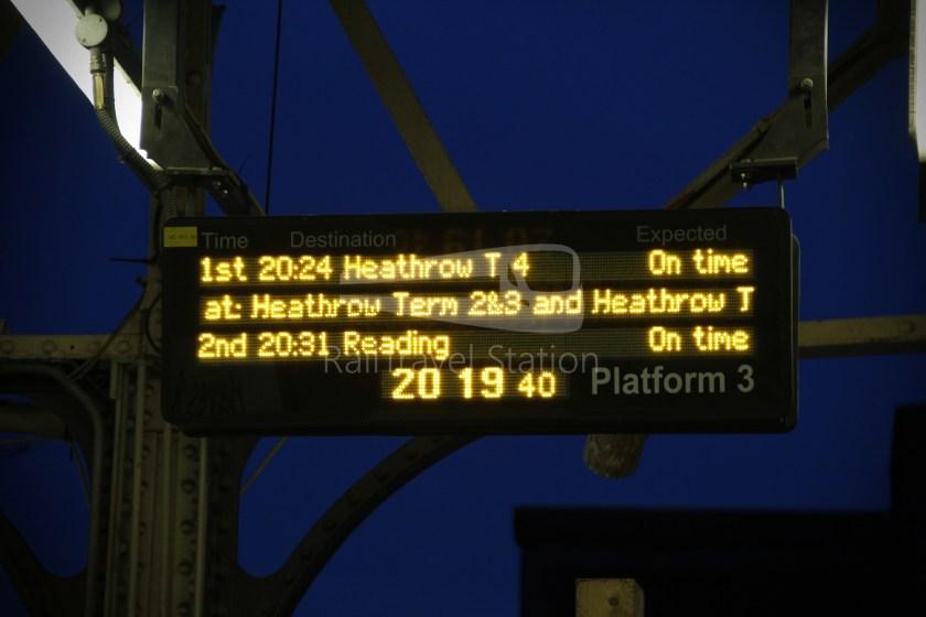 TfL Rail GWR Heathrow Terminal 4 Oxford 016