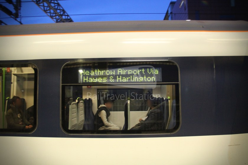 TfL Rail GWR Heathrow Terminal 4 Oxford 018