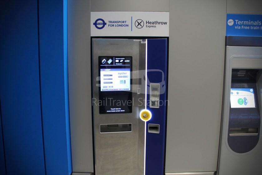 TfL Rail Heathrow Express Terminal 4 Terminal 5 003