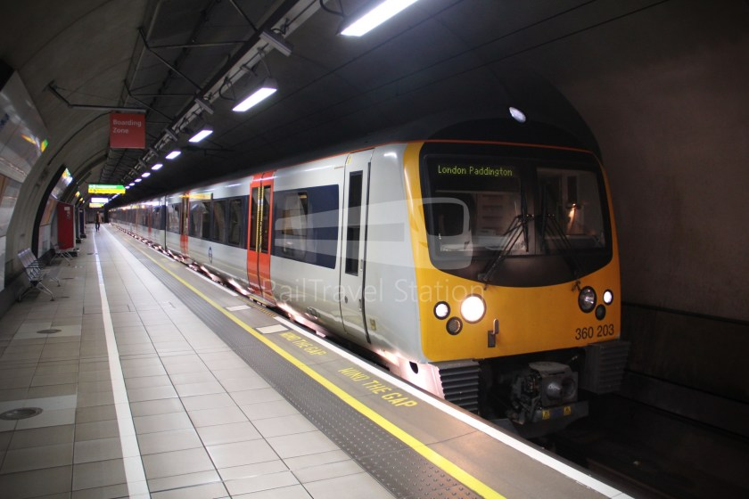 TfL Rail Heathrow Express Terminal 4 Terminal 5 019