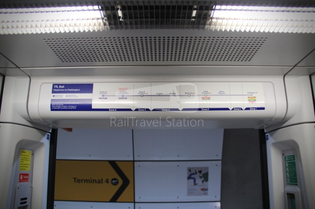 TfL Rail Heathrow Express Terminal 4 Terminal 5 023