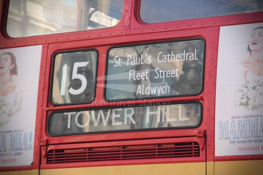 15H (Heritage) Charing Cross Trafalgar Square Tower of London 016