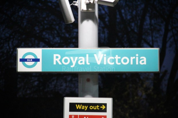 DLR Royal Victoria Canning Town 007