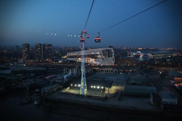Emirates Air Line Emirates Greenwich Peninsula Emirates Royal Docks Sunset 028