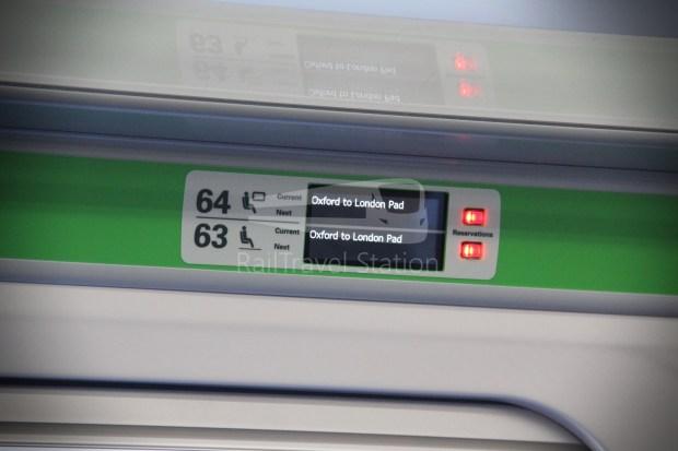 GWR Oxford London Paddington Advance Single 021