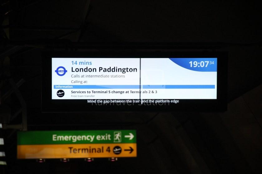 GWR TfL Rail Oxford Heathrow Terminal 4 059