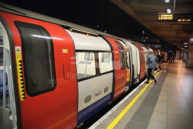 Jubilee Line Canning Town North Greenwich 002