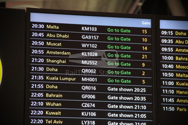 Malaysia Airlines MH1 LHR KUL 017
