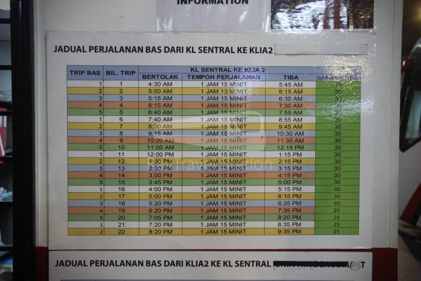 Suasana Edaran KL Sentral klia2 008