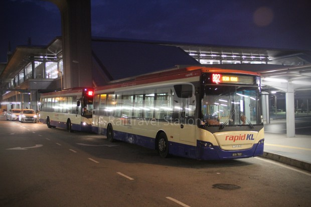 KTM Komuter Rail Replacement Bus Sungai Buloh Serendah 001