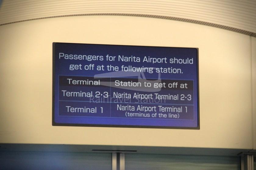 Keisei Skyliner 37 Keisei-Ueno Narita Airport Terminal 1 103