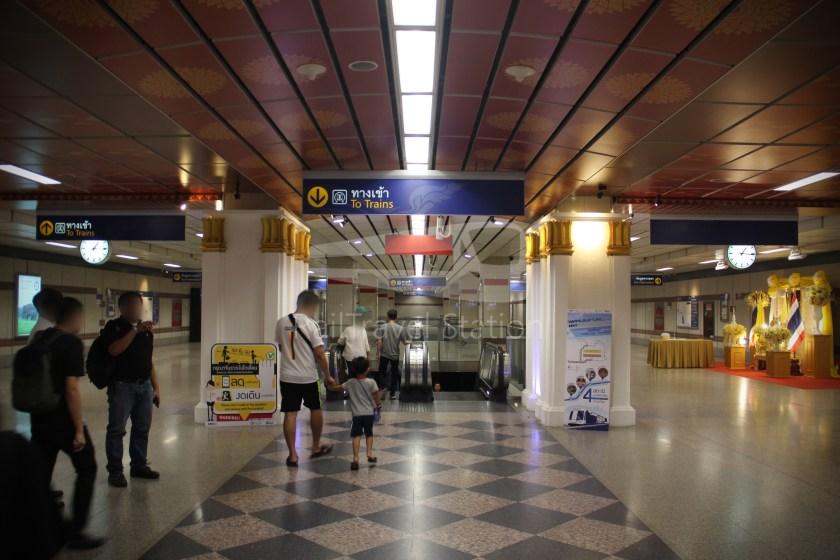 MRT Blue Line Hua Lamphong Tha Phra Extension 013