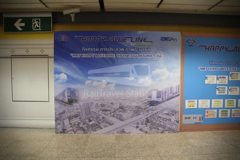 MRT Blue Line Hua Lamphong Tha Phra Extension 014